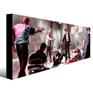 RESERVOIR DOGS home theater movie dvd painting CANVAS ART GICLEE PRINT