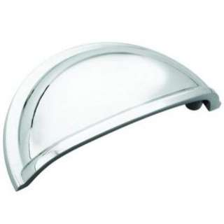 Cabinet Hardware Polished Chrome Cup Pulls   #5310 26
