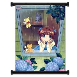 Card Captor Sakura Anime Game Fabric Wall Scroll Poster