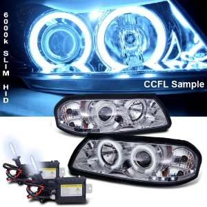 Eautolight 6000k Slim Xenon HID Kit+00 05 Chevy Impala Ccfl Halo LED