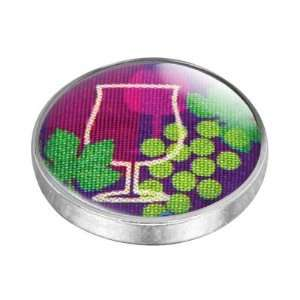 Wine Glass Interchangeable Fashion Magnet Arts, Crafts & Sewing