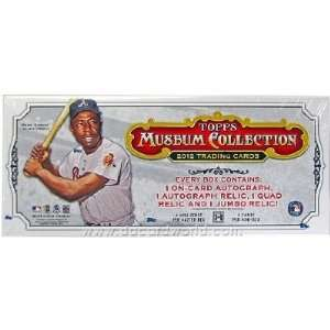 2012 Topps Museum Collection Baseball Trading Cards Hobby