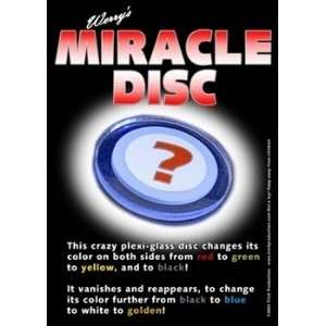 Miracle Disc   Close Up / Street / Parlor Magic tr Toys