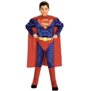 Rubies Costume Co 6384 Superman with Chest Child Costume