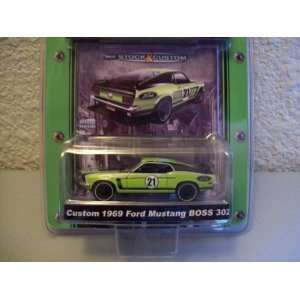 MCG Series 6 Custom 1969 Ford Mustang Boss 302 Toys & Games