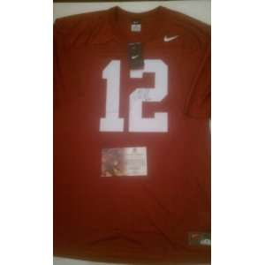 Andrew Luck Signed Stanford Cardinals Jersey Everything