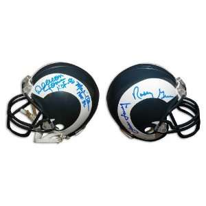 Fearsome Foursome Hand Signed Mini Helmet