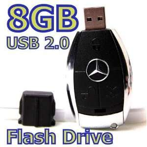8GB Mercedes Benz Key Type 2.0 USB Flash Memory Stick Drive Card Pen