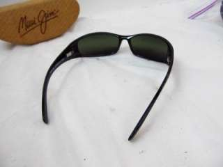 Maui Jim Hoku Sunglasses Gloss Black Neutral Grey MJ 162 02