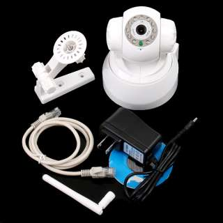 WIFI Wireless IP Camera Security IR LED Remote Control Motion Detect