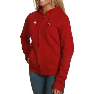 NCAA adidas Louisville Cardinals Ladies Red Primary Logo