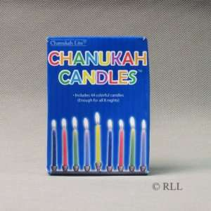 Hanukkah Multi Colored Candles / 44 per box Everything