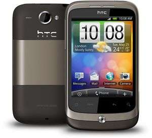 HTC WILDFIRE MOBILE BRAND NEW BOXED UNLOCKED+2GB CARD 5052179520112