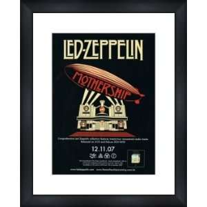 LED ZEPPELIN Mothership   Custom Framed Original Ad   Framed Music