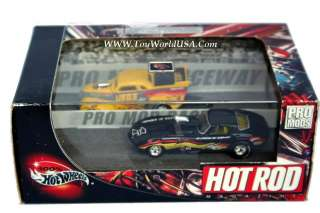 100% Hot Wheels Hot Rod Magazine Pro Mods 37 Chevy & 67 Corvette