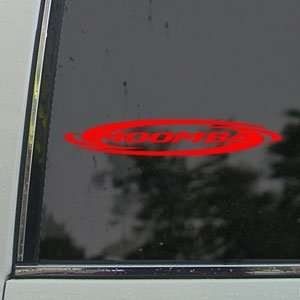 Moomba Red Decal Moomba Boat Car Truck Window Red Sticker