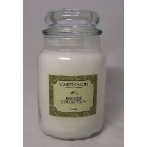 Yankee Candle Encore Collection Linen Candle ~ 22 Oz Jar