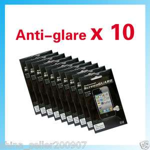 10 PCS Anti glare Matte LCD Screen Protector for iPhone 4 4G