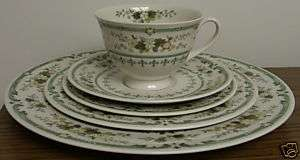 Royal Doulton Provencal China Set (Place Setting)