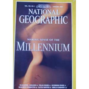 National Geographic Magazine January 1998 Millenium