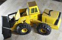 Vintage Tonka Truck Bucket Loader Pressed Metal Turbo Diesel