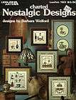 VINTAGE LEISURE ARTS NOSTALGIC DESIGNS COUNTED CROSS STITCH PATTERN