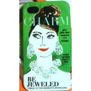 Kate Spade Green Magazine Hard Shell Iphone 4/4s Case