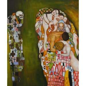 Klimt Paintings Death and Life