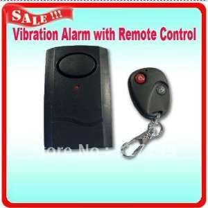 vibration alarm with remote control for door window detector alarm