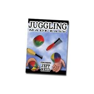 Juggling Made Easy DVD Transform Ball Magic Trick Stage