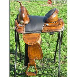 Hilason Treeless Western Barrel Racing Trail Saddle