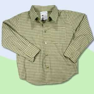 Baby LIMITED EDITIONS Green Check Long Sleeve Shirt Baby