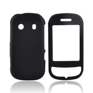 For Samsung B3410 Rubberized Hard Case Cover BLACK
