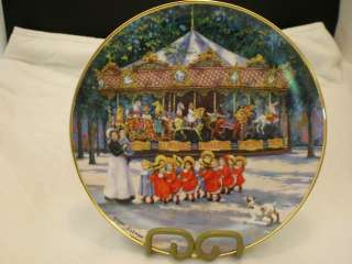 CAROUSEL HOLIDAY   SANDI LEBRON FRANKLIN MINT PLATE