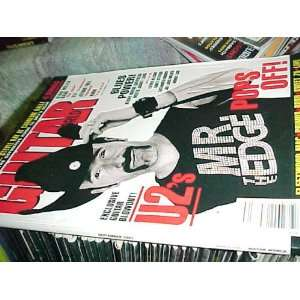 Guitar World Magazine 9 97  U2 the Edge Cover Guitar World Books