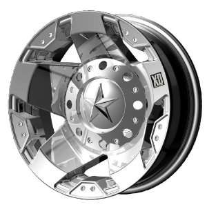 XD Series Rockstar Dually XD775 Chrome Wheel (17x6