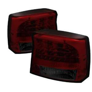 2009 2010 Dodge Charger LED Tail Lights   Red Smoke