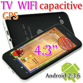 Android 2.3.6 Unlocked Dual Sim Wifi GPS AT&T Capacitive Smart