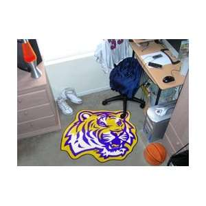 LSU Tigers Cut Out Floor Mat
