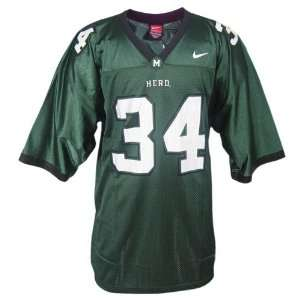 Nike Marshall Thundering Herd #34 Green Replica Football Jersey