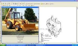 Case 580 Super E loader backhoe tractor manual