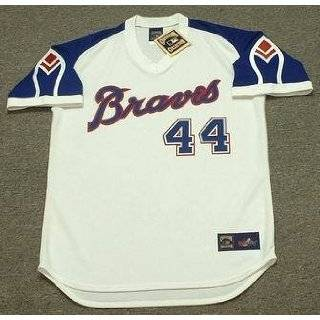 MURPHY Atlanta Braves 1983 Majestic Cooperstown Throwback Away Jersey
