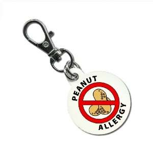 Allergy Medical Alert 1.25 Inch Round Aluminum Dog Tag Everything