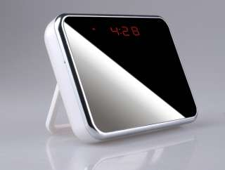 New Multi Functional Digital Detection Mirror Table Clock Hidden Spy