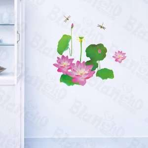 Flourish Flowers   Large Wall Decals Stickers Appliques