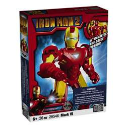 Mega Bloks Iron Man Mark 6 Toy Set