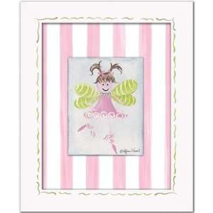 Fairies Fairy Framed Giclee   Light Brown Wall Art Color
