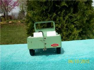 TONKA Mound Minn 1960s Original Outdoor living Set Pressed Steel Jeep