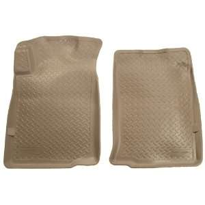 Liners Custom Fit Molded Front Floor Liner for Toyota Tacoma (Tan