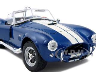 model of 1965 Shelby Cobra 427 S/C Blue diecast model car by Welly